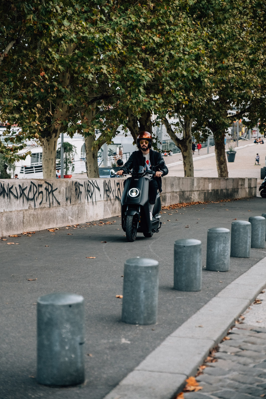 Test Scooter Electrique Niu S-Serie Black